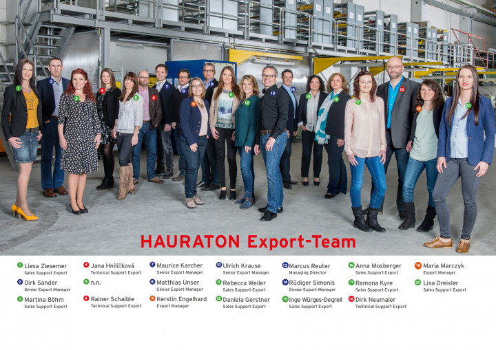 HAURATON Sales Export